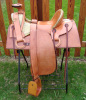 1870s FA Meanea Stock Saddle